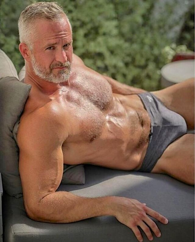 mature gay grey men
