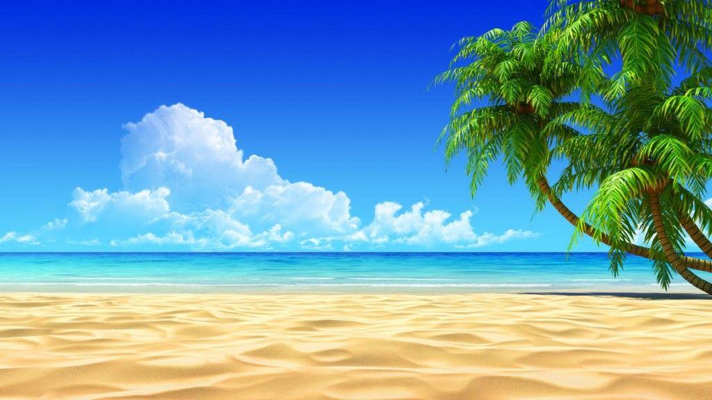 Cute Cartoon In Beach Wallpaper Hd Desktop High Definitions Beach Scene Wallpaper Beach Wallpaper Beach Wall Murals