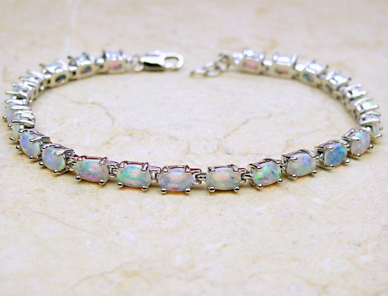opal bracelet birthstone