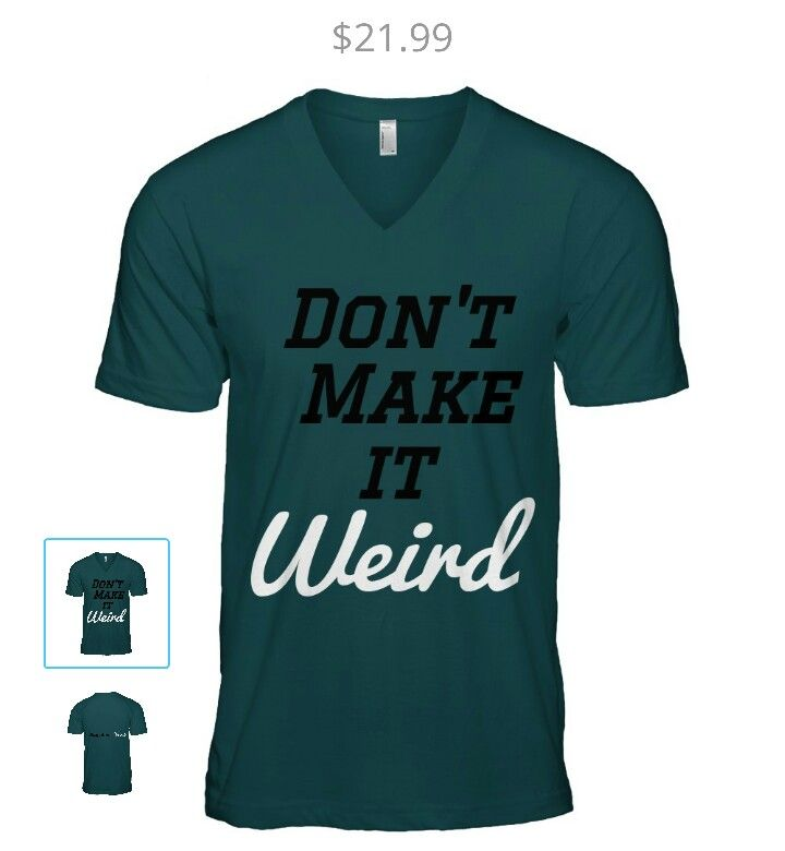 #weirdo