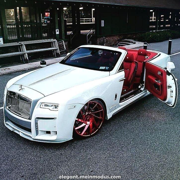Photo of 優雅なロールスロイスは白と赤です。 #RollsRoyce#エキゾチック車#専#スーパーカー…