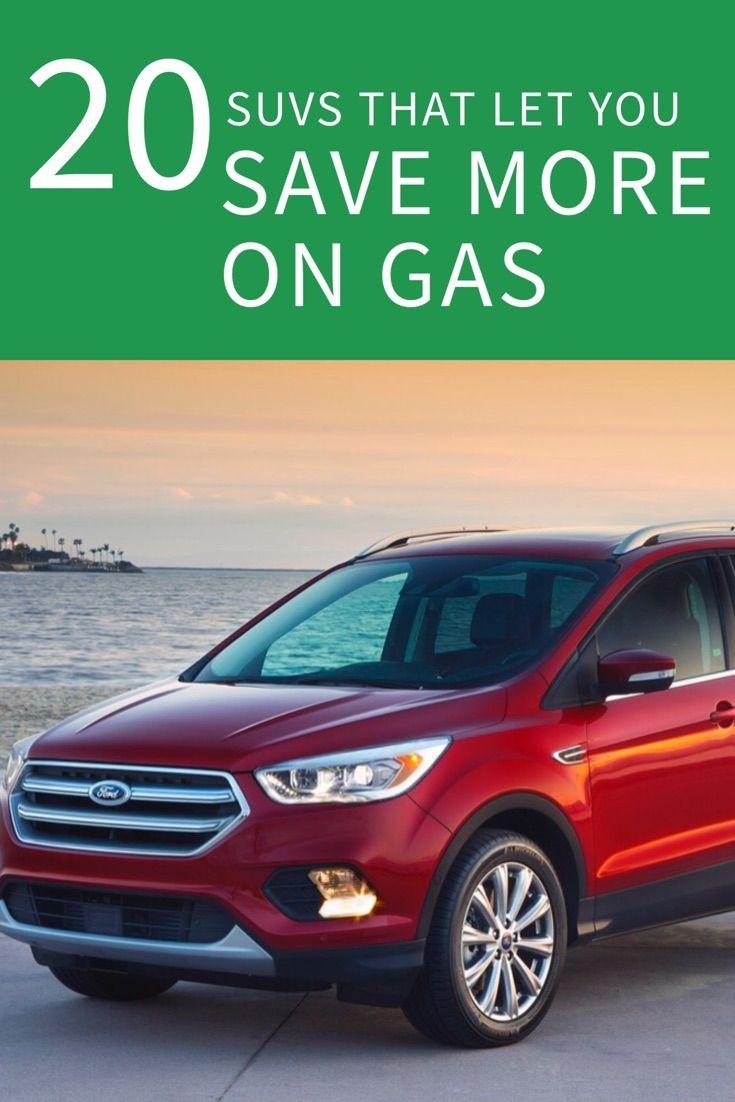 20 suvs with the best gas mileage saving money best gas mileage rh pinterest co uk