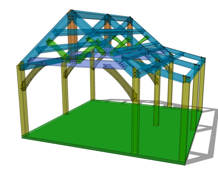 Best 20X20 Timber Frame Plan Shed Roof Shed Plans Shed Homes 400 x 300