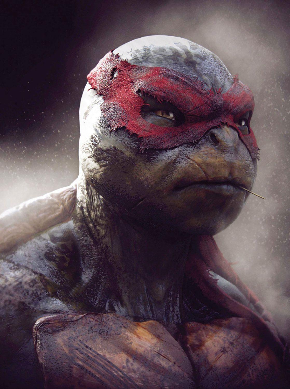 Teenage mutant ninja turtle tmnt raphael decal vinyl wall decal