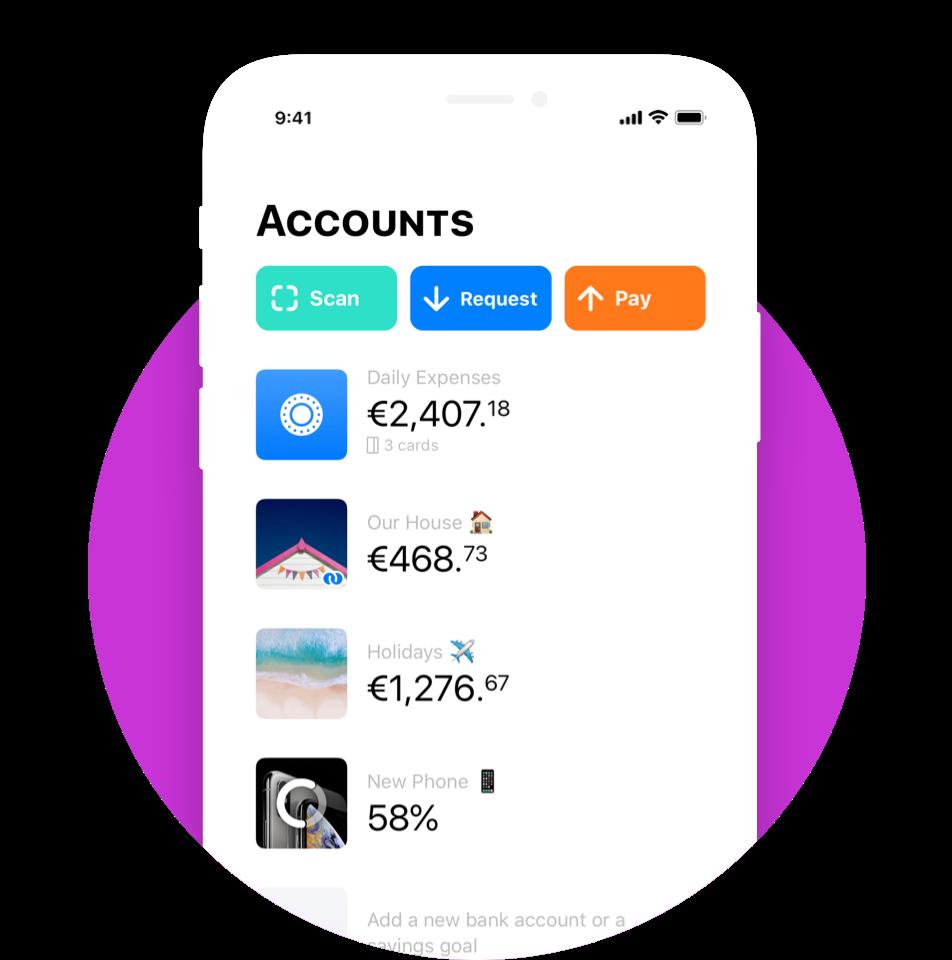 Bunqappaccountsscreen Opening a bank account