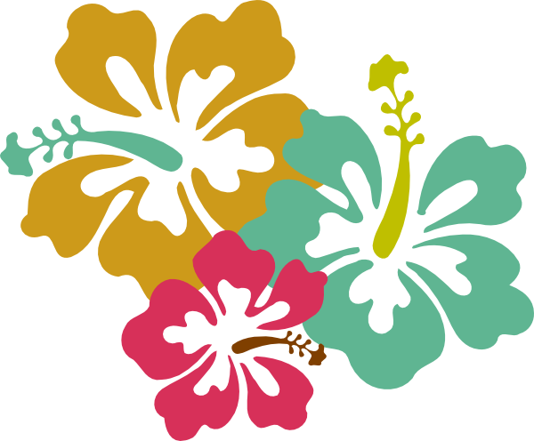 Http Www Clker Com Cliparts G W A R M 9 Hibiscus Mute Tones Hi Png Hibiscus Clip Art Hawaiian Flower Drawing Hawaiian Flowers