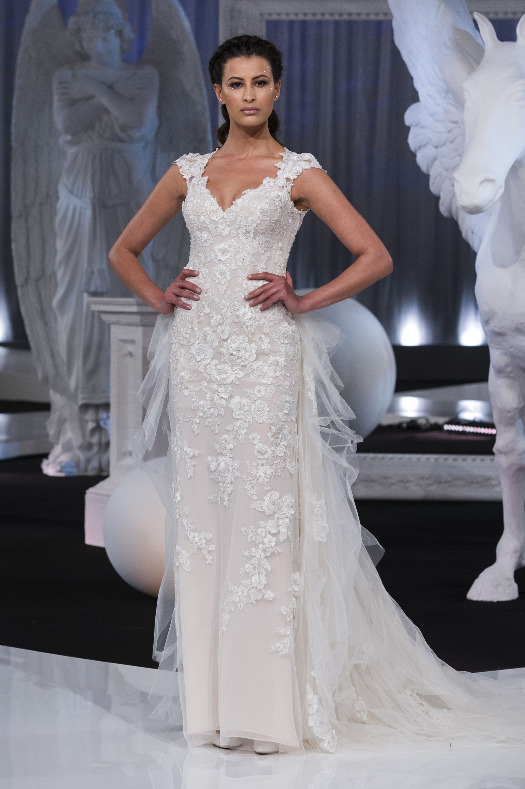 Nicole spring bridal fashion show the impression wedding