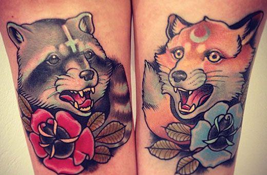 Tatuaje Americano Tradicional fox tattoo | tattoos | pinterest | tatuajes