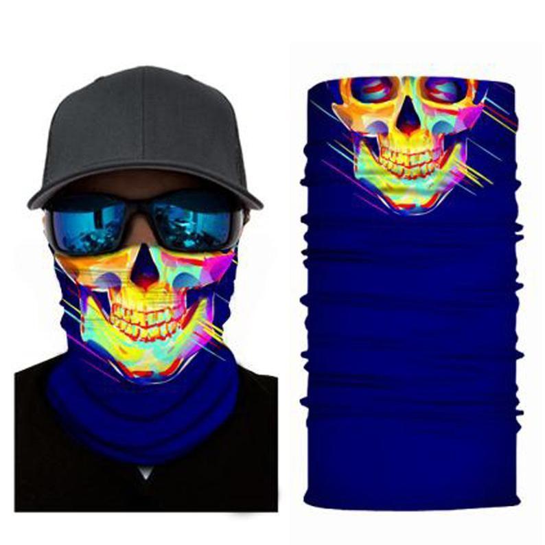 Balaclava Cycling Neck Tube Bandana Snood Scarf Biker Face Mask Warmer Multi-use