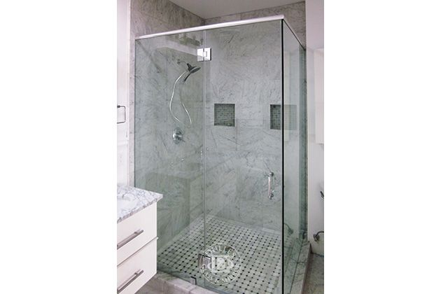 This Glass Shower Door Has 90 Degree Shower Frameless Shower Doors Chrome Finish Low Iron Glass Tubula Glass Shower Glass Shower Doors Shower Doors