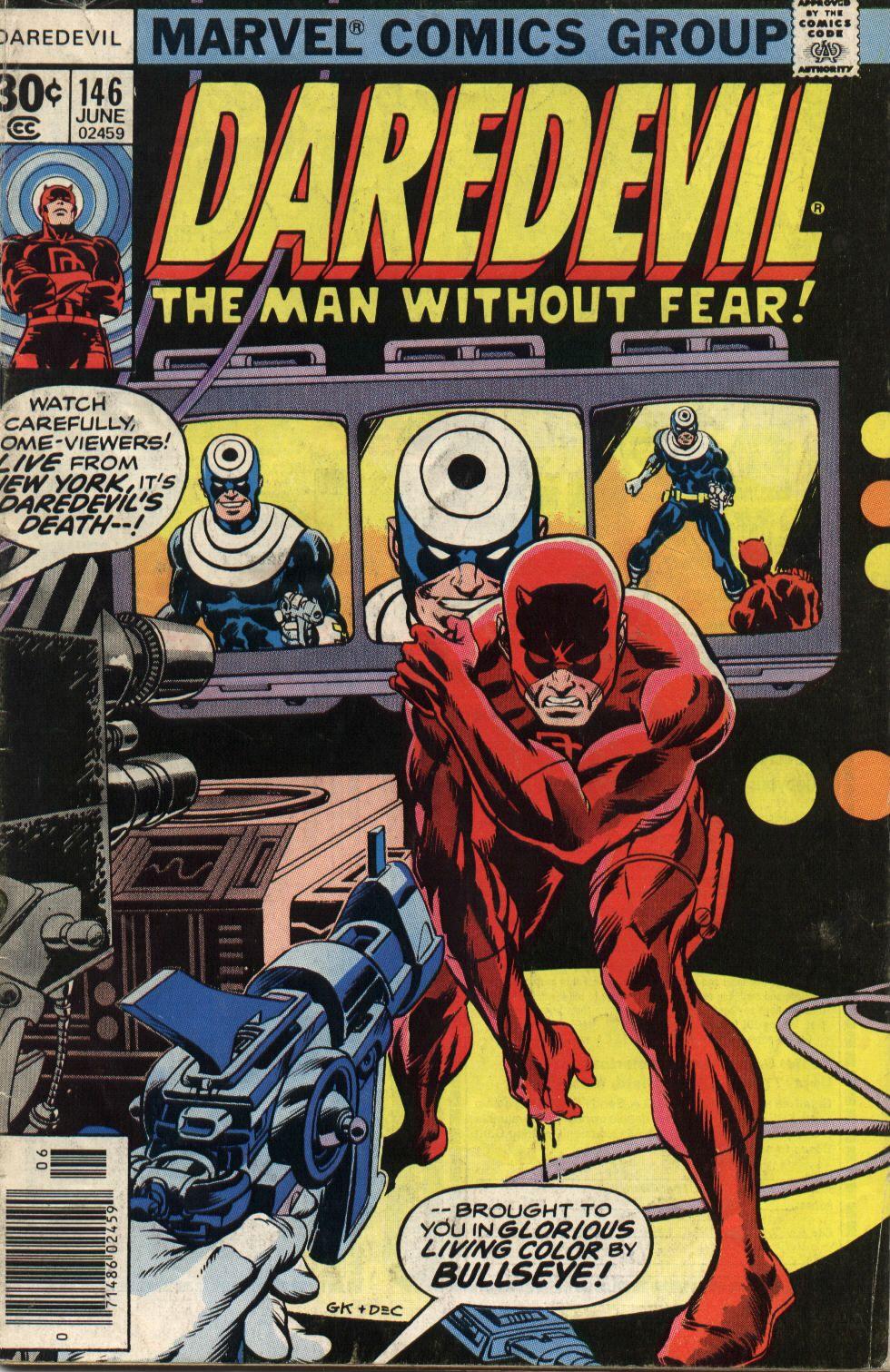 Daredevil #146 Cover By Gil Kane