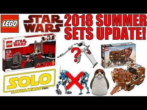 Spread the love - Compartir en Redes Sociales LEGO Star Wars Summer 2018 Sets RUMORS UPDATE! 2018 has been a great year for LEGO Star Wars sets so far! More LEGO Star Wars Sets are coming this Summer though and I want to bring you