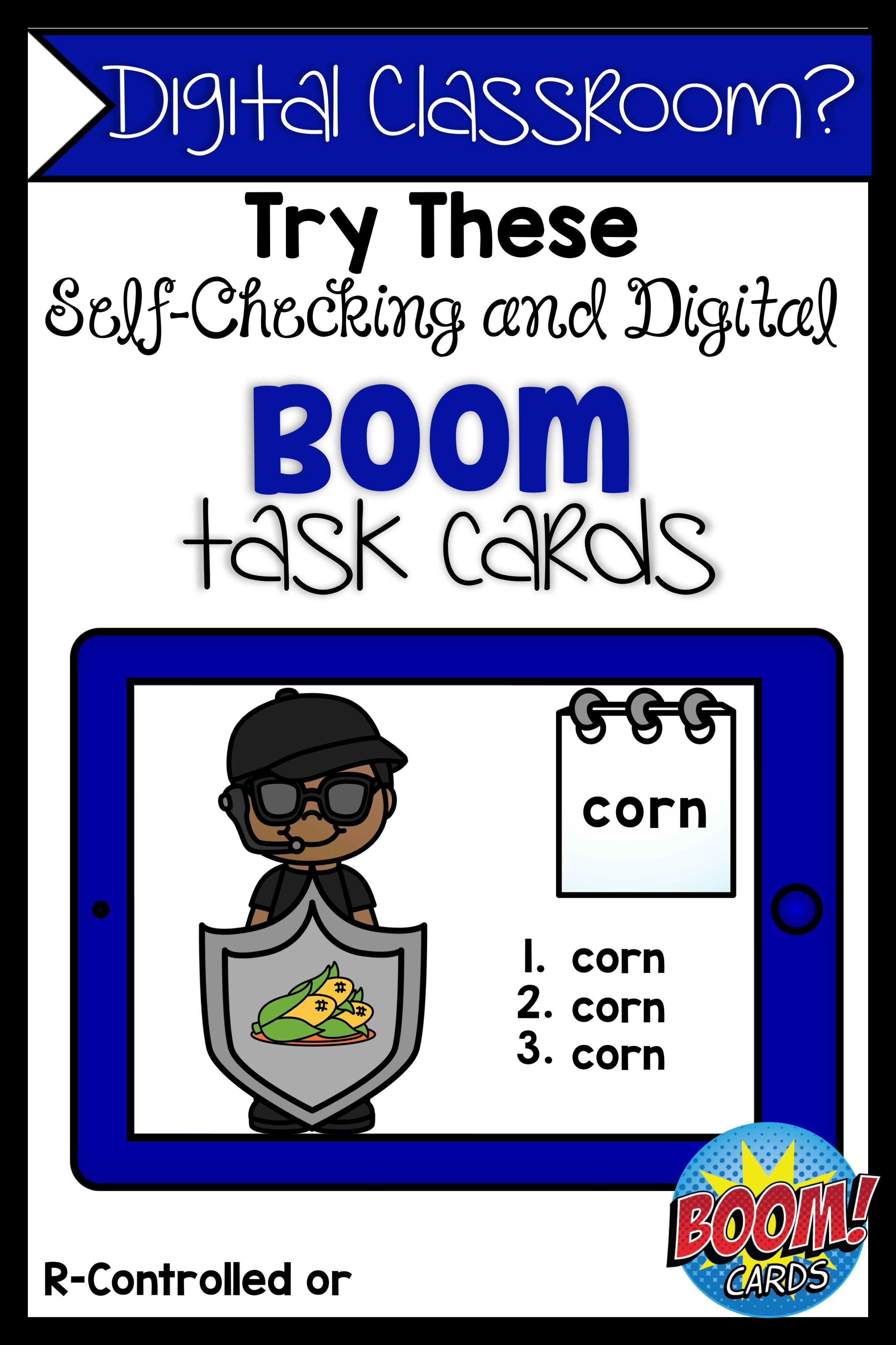 Boom Cards R Controlled Vowel Or Bundle