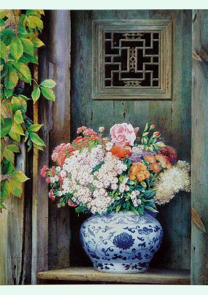 契丹的相册-老北京水彩画