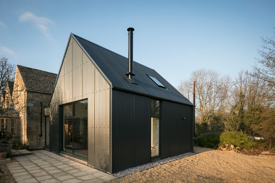 Corrugated Metal Extension By Eastabrook Architects Detached Houses In 2020 Corrugated Metal Metal Cladding Stone Cottages