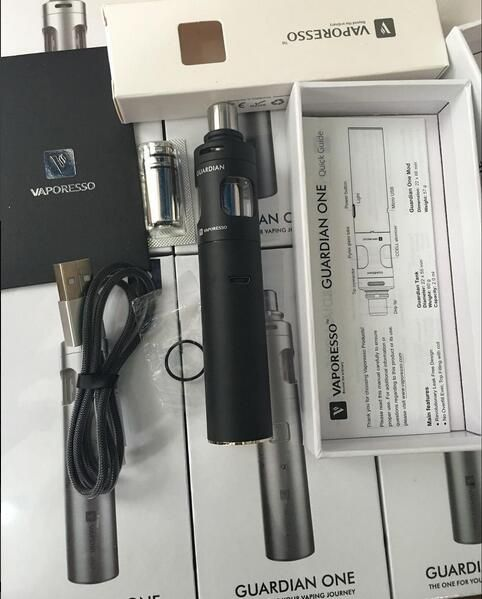The Guardian One is the future of e-cigarettes - stay one step ahead of the trend and enjoy affordable vaping with this all-in-one, easy to use, and safe vape starter kit.