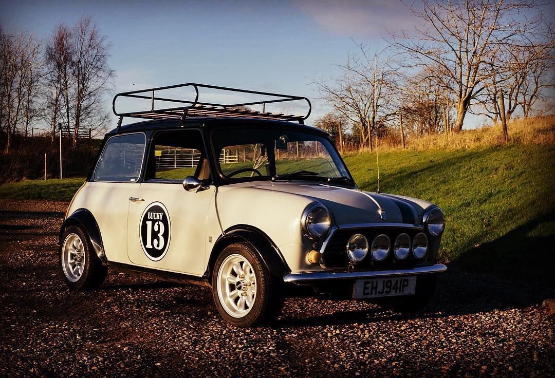 1976 Austin Mini 1275 GT Being prepared for sale. 10k