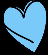 Heart Clip Art Heart Images Heart Graphics Blue Heart Clip Art