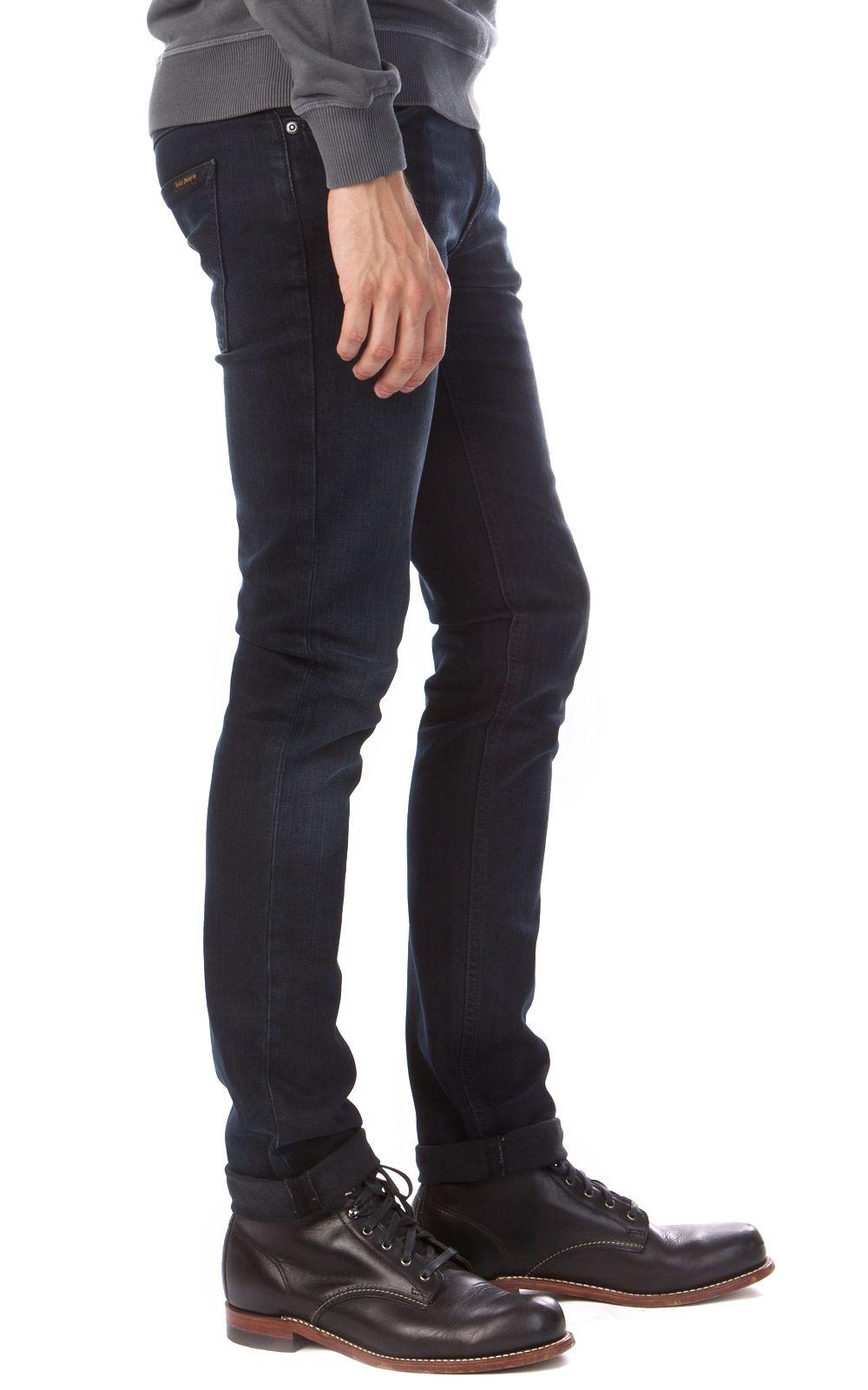 79761af7b5 Cultizm.com - Thin Finn Organic Black Ring 11 Months Nudie Jeans Thin Finn  Organic Black Ring 11 Months 111638