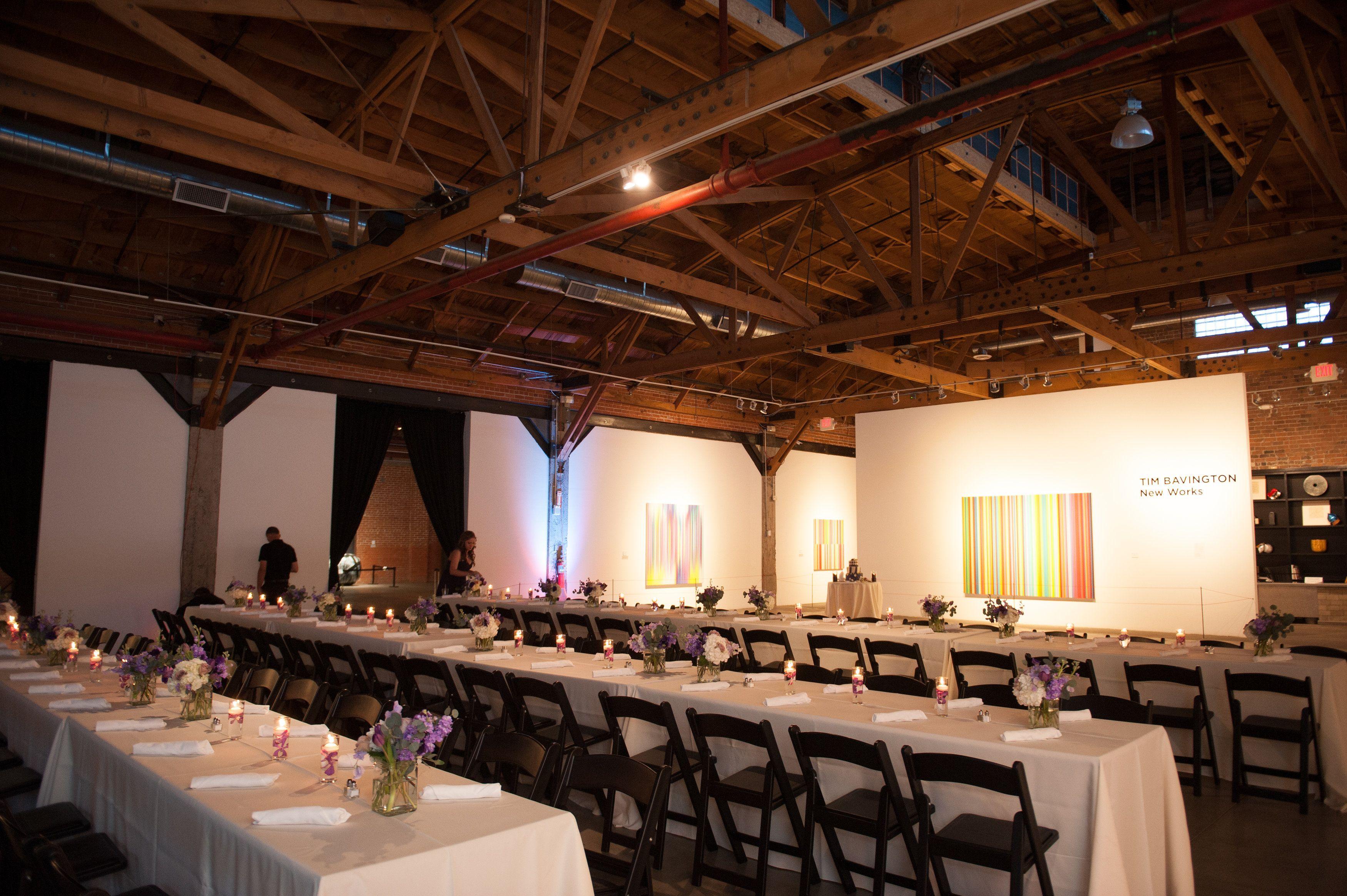 Wedding Tables Bentleywedding Downtownphoenixvenues Warehouse215 Weddingvenue Rustic Unique Urban Warehouse Event Venues Venue Rental Wedding Chairs