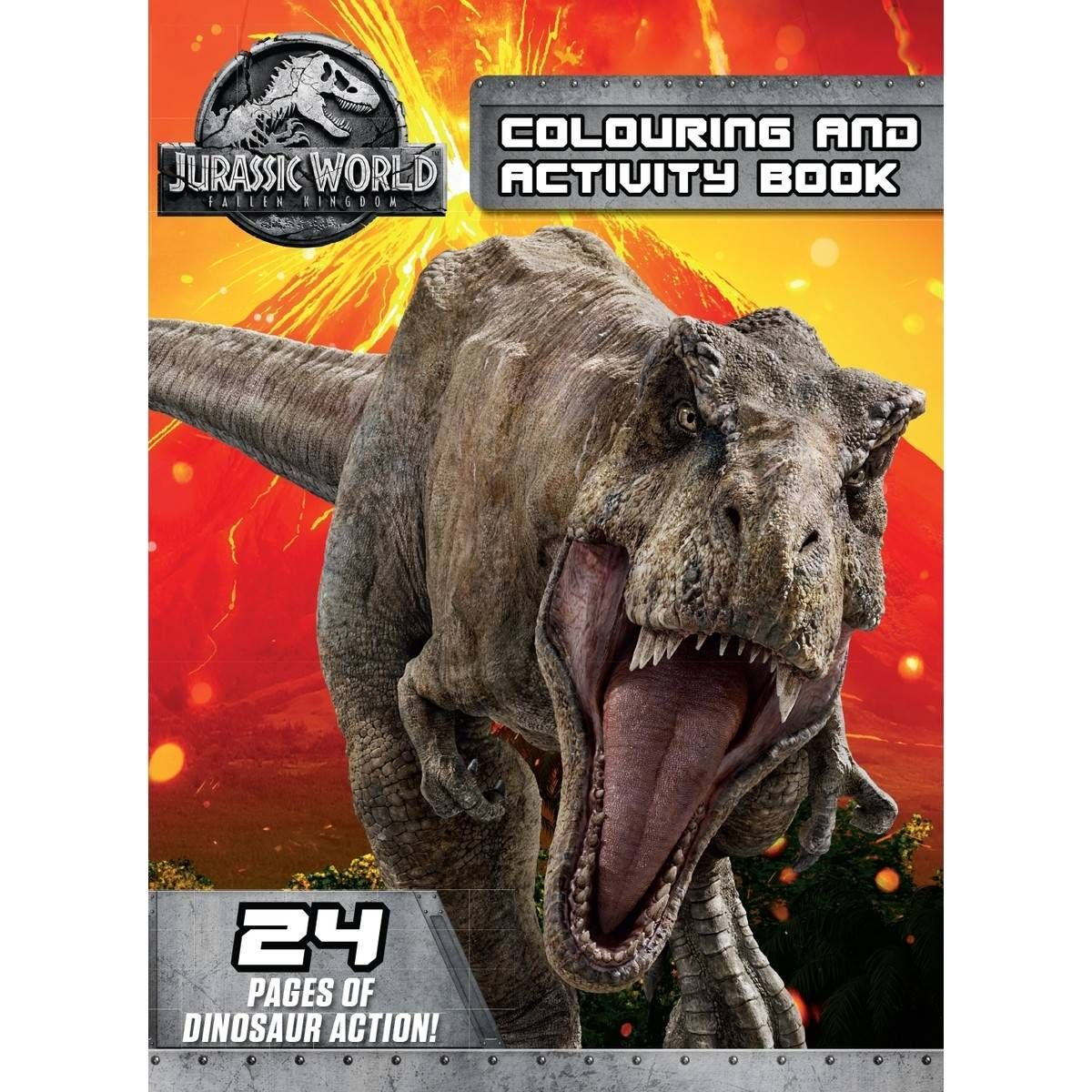 Jurassic World 2 Fallen Kingdom Colouring And Activity Book Jurassic World Falling Kingdoms Jurassic World Characters