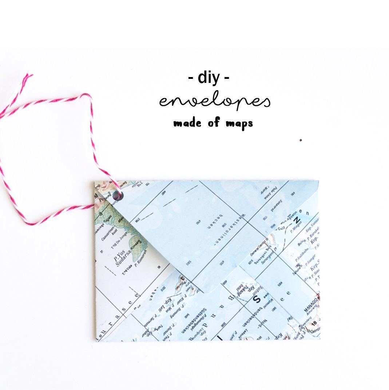 Briefe Falten Und Eintüten Maschine : Wie du aus einer atlas seite einen briefumschlag falten