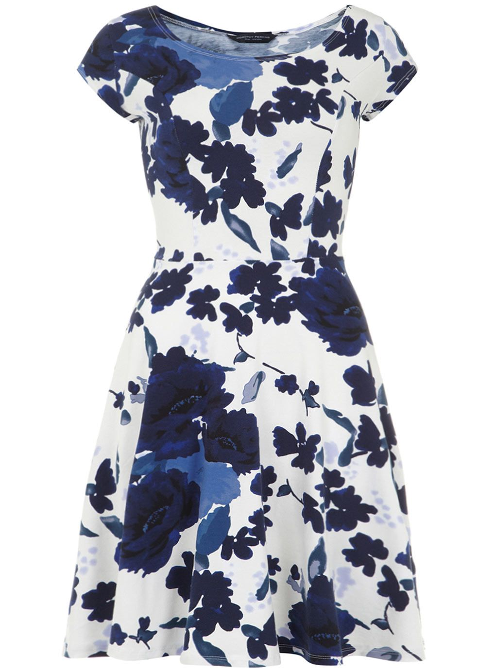 Free Shipping With Paypal Dorothy Perkins Womens **Tall Print Bardot Dress- Official Online Outlet Locations For Sale Cheap Sale Authentic pwCuVFxp5