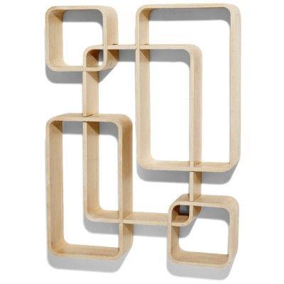 Soldes 2020 Etagere Et Serviteur De Douche Gifi Cube Mural Etagere Design Design Couleur