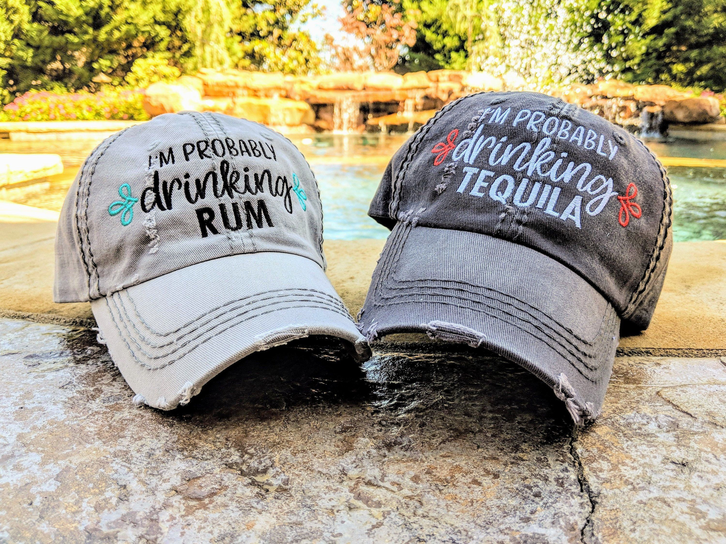 Women S Drinking Hat Party Hat Vacation Hat I Ll Bring The Hat Rum Hat Tequila Hat Beer Hat Vodka Hat Prosecco Hat Wine Hat Rum Beer Hat Country Hats Hats