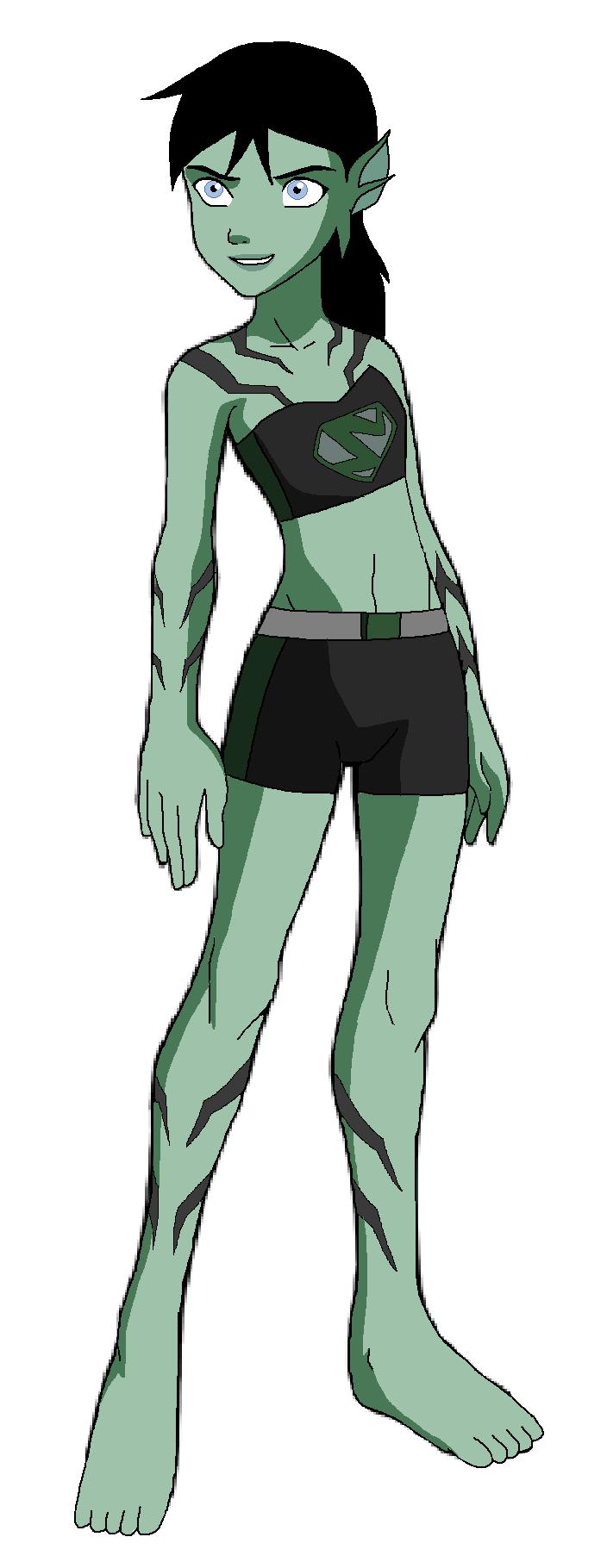 Lagoona daughter of Lagoon Boy Half Kryptonian Half Atlantean