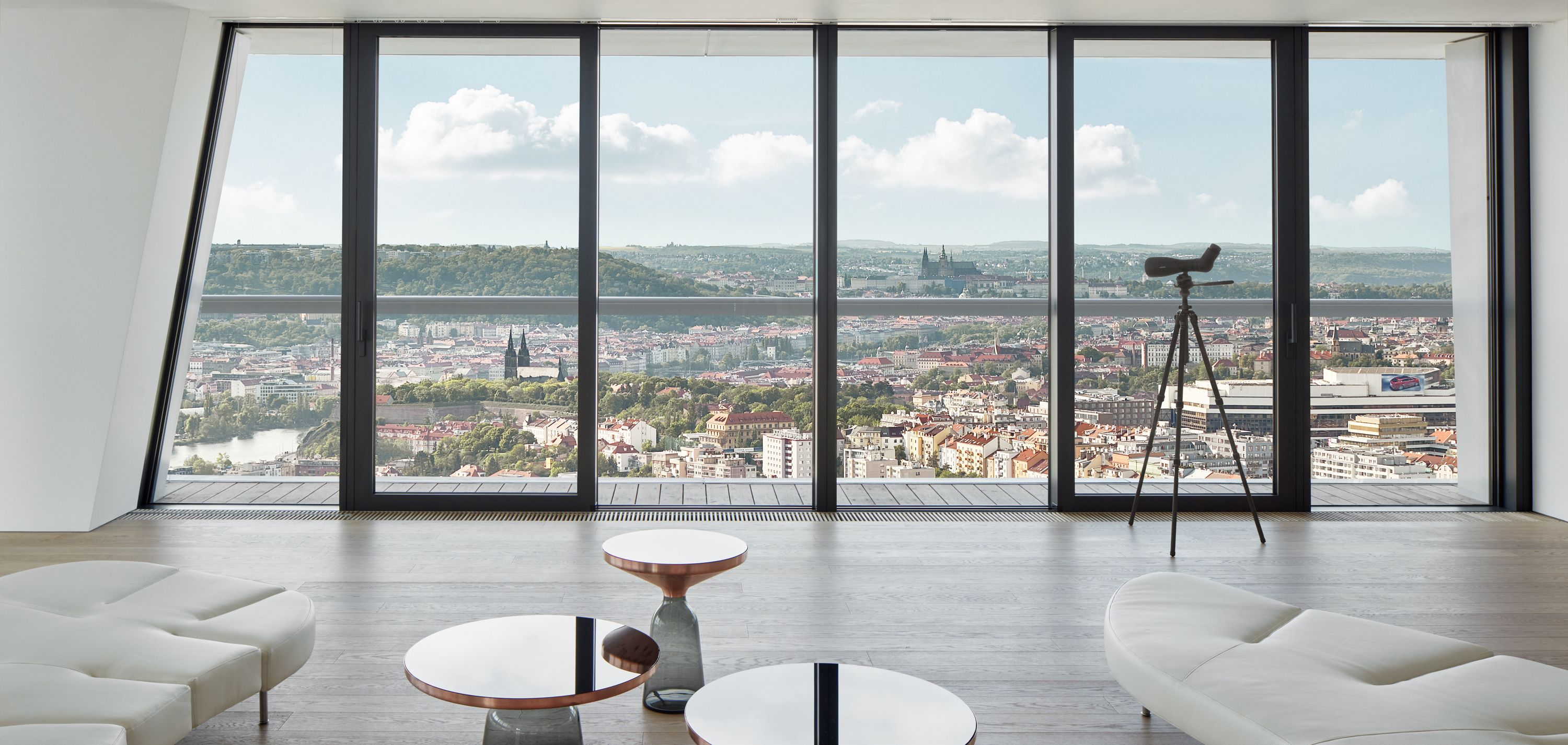 Penthouses With City Views Luxury Triplex Penthouse In Prague Czech Republic In 2021 Pent House International Real Estate City House