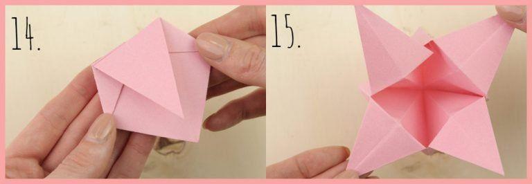 Origami Sternschachtel Falten Einfach Schön Origami