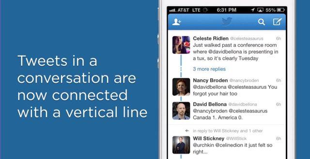 Twitter, cambia il modo di seguire le conversazioni su web e mobile