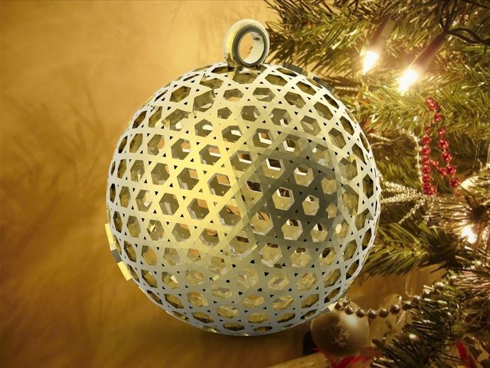 Ball Star of David Ornament 3D Model | Christmas bulbs ...