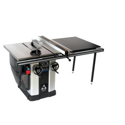 Delta 3 Hp Motor 10 In Unisaw With 36 In Biesemeyer Fence System 36 L336 Delta Table Saw Diy Table Saw Table Saw