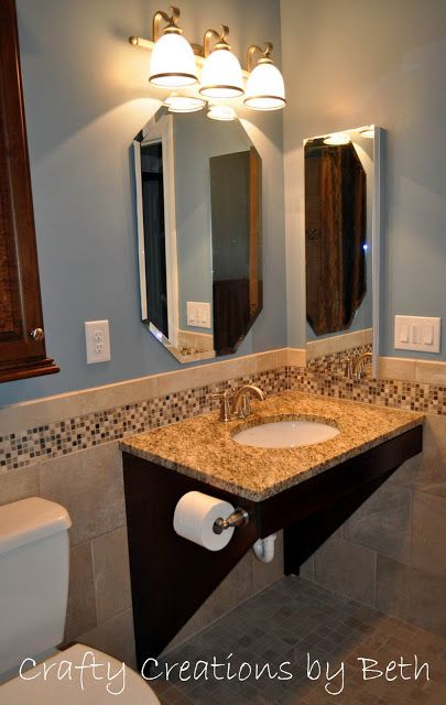 Wheelchair Accessible Bathroom Remodel Sonya Hamilton Designs Accessible Bathroom Remodel Accessible Bathroom Accessible Bathroom Sink