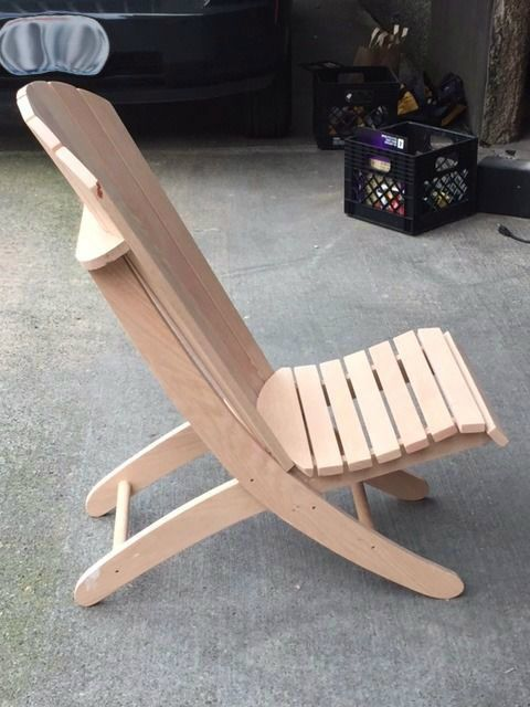 Adirondack Beach Chair W 2 Positions Adirondack Chairs Diy Patio Chairs Diy Diy Chair