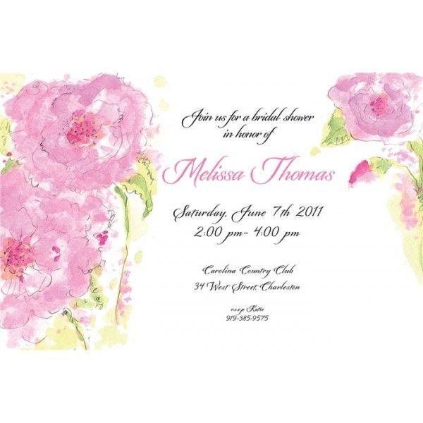 Springtime Flowers Pink....find it on invitationbox.com