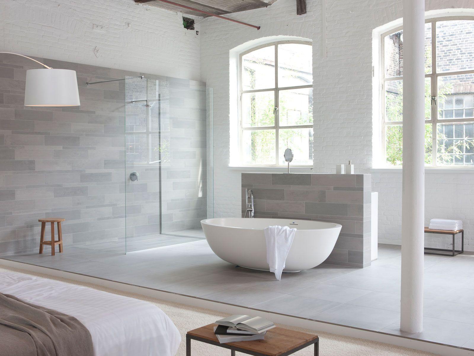 Mosa tiles home renovations bathroom bathroom - Light grey bathroom tiles designs ...