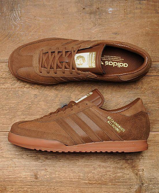 hot sale online de9d9 fc945 Beckenbauer Allround Zapatos Vans, Zapatos Adidas, Zapatillas De Cuero, Calzado  Adidas, Zapatos