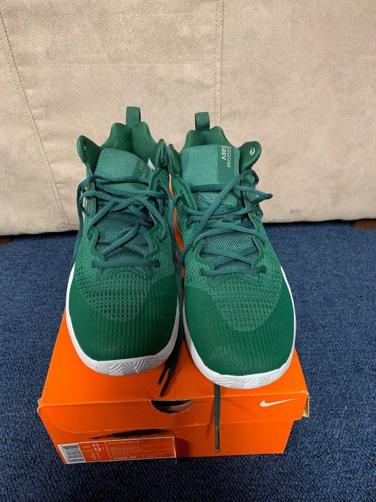 83254dcf87cd nike zoom rev tb- Green And White-size 11 U.S  fashion  clothing  shoes   accessories  mensshoes  athleticshoes (ebay link)