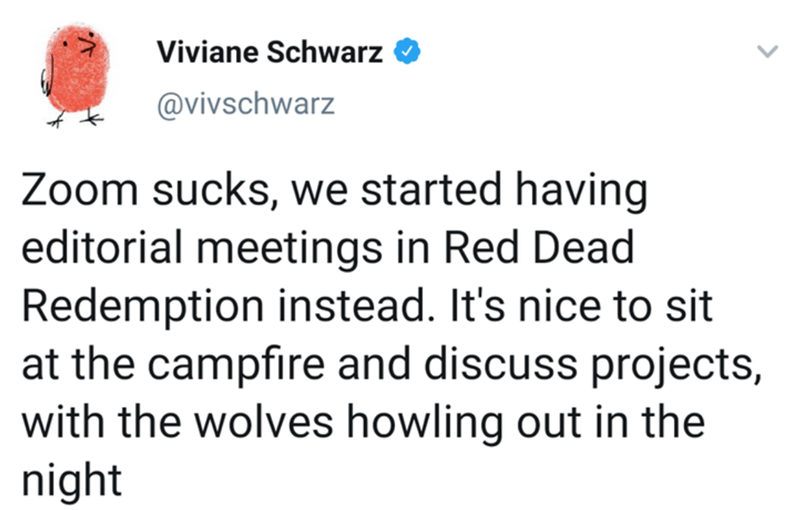 Twitter Thread Employees Have Meetings On Red Dead Redemption Best Picture For Funny Photo H Red Dead Redemption Funny Photos Funny Gif