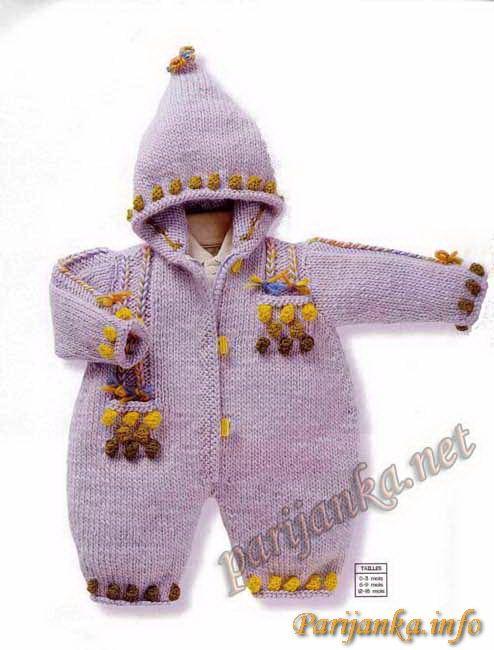Комбинезон для младенца Anny Blatt №2147