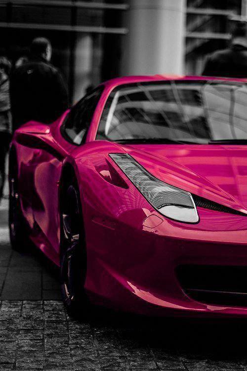 Ferrari ❥ Mz. Manerz: Being well dressed is a beautiful form of confidence, happiness & politeness #Lamborghini #AlfaRomeo #FerrariPink #pinkferrari