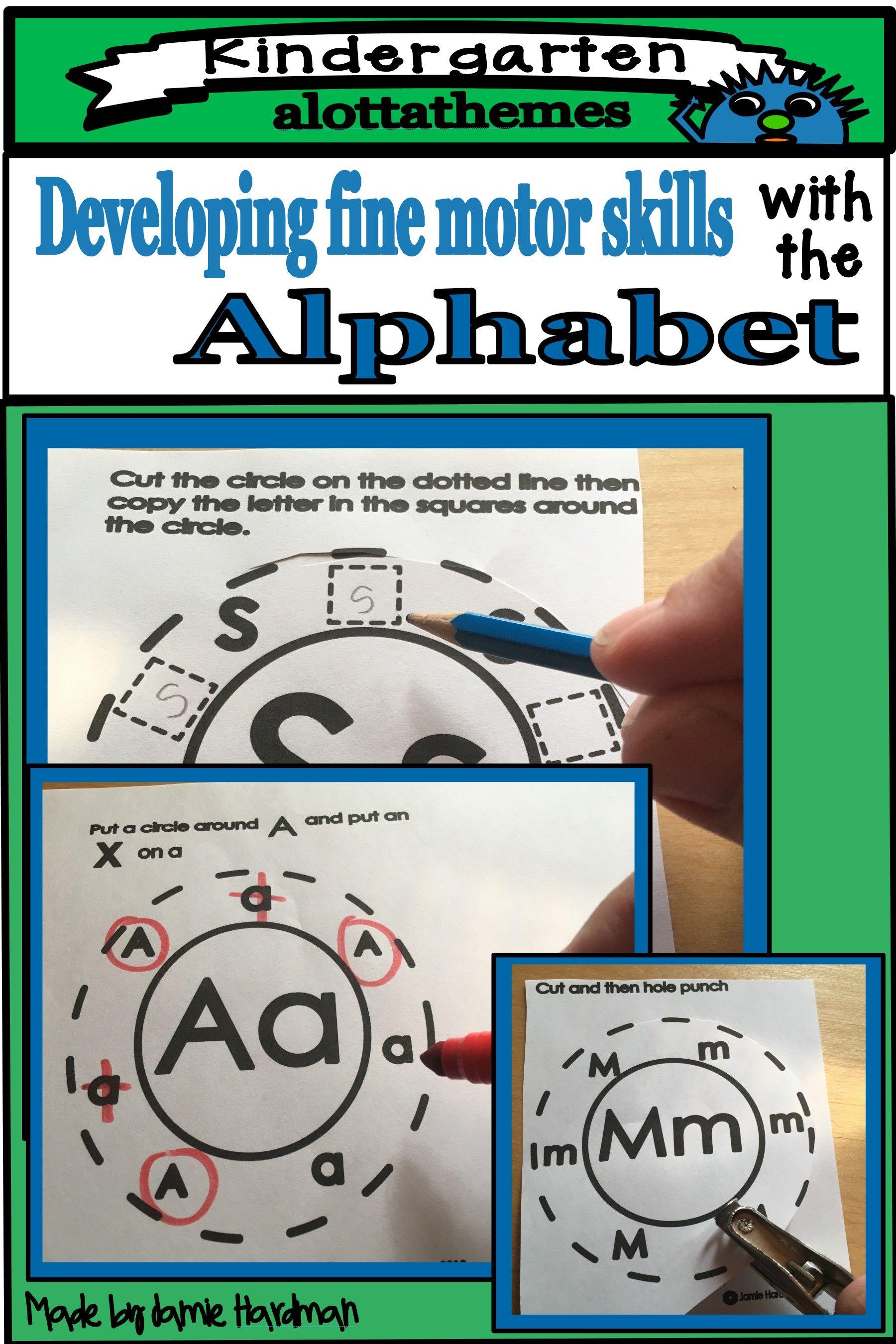 Kindergarten Alphabet Holepunch In