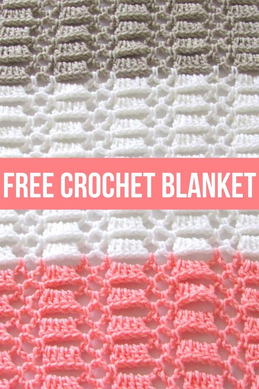 Easy Crochet Blanket for Baby, Perfect for Beginners - Crochet Dreamz
