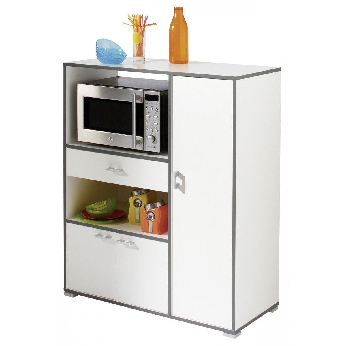 Mueble microondas buzz buffet pinterest cozinha for Mueble auxiliar microondas