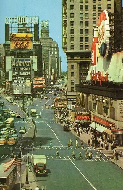Year One, 1955: Times Square, New York City, 1955