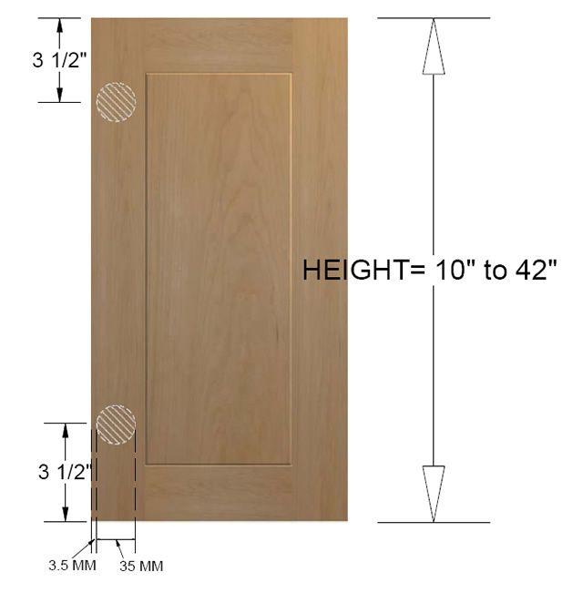 Hog Wild Home: Ikea Sektion Cabinets with Barker Doors