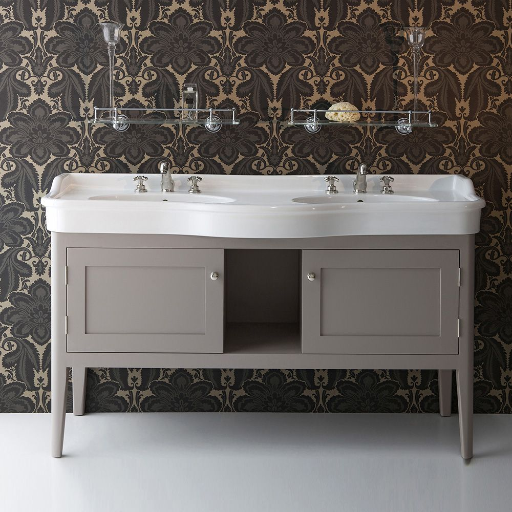Ortona Double Vanity Unit - Albion Bath Co - Hand Made to Order